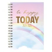 Tallon A5 Wiro 2020-21 Mid-Year Academic Diary (Week  to View) - Be Happy Today